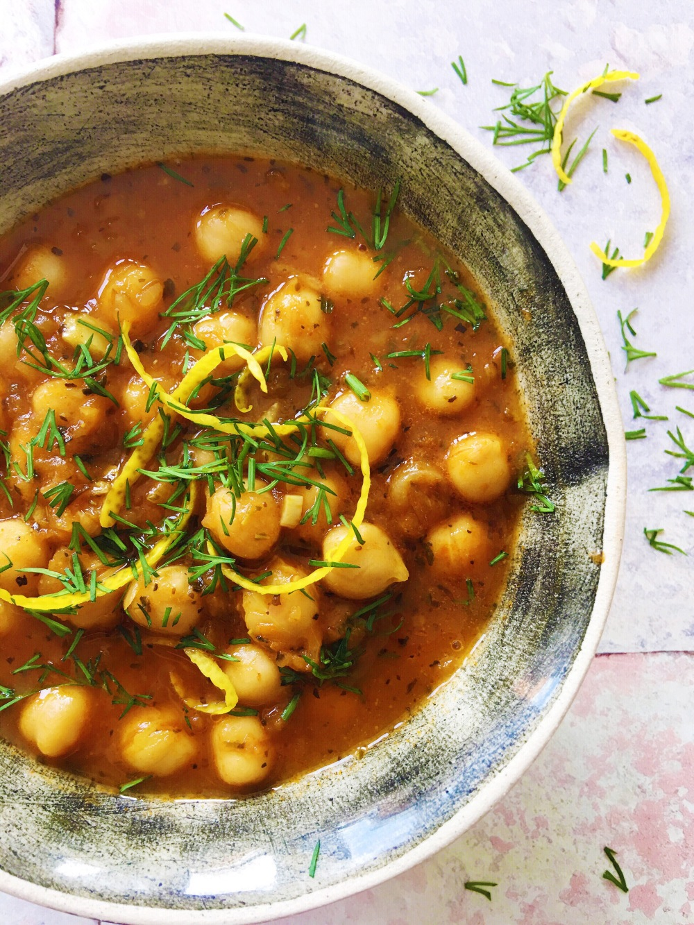 Rana's Chickpea Stew