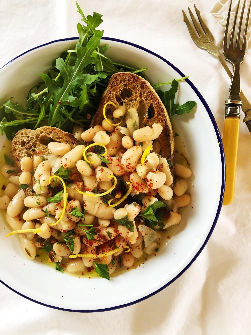 Cannellini Bean Ragu