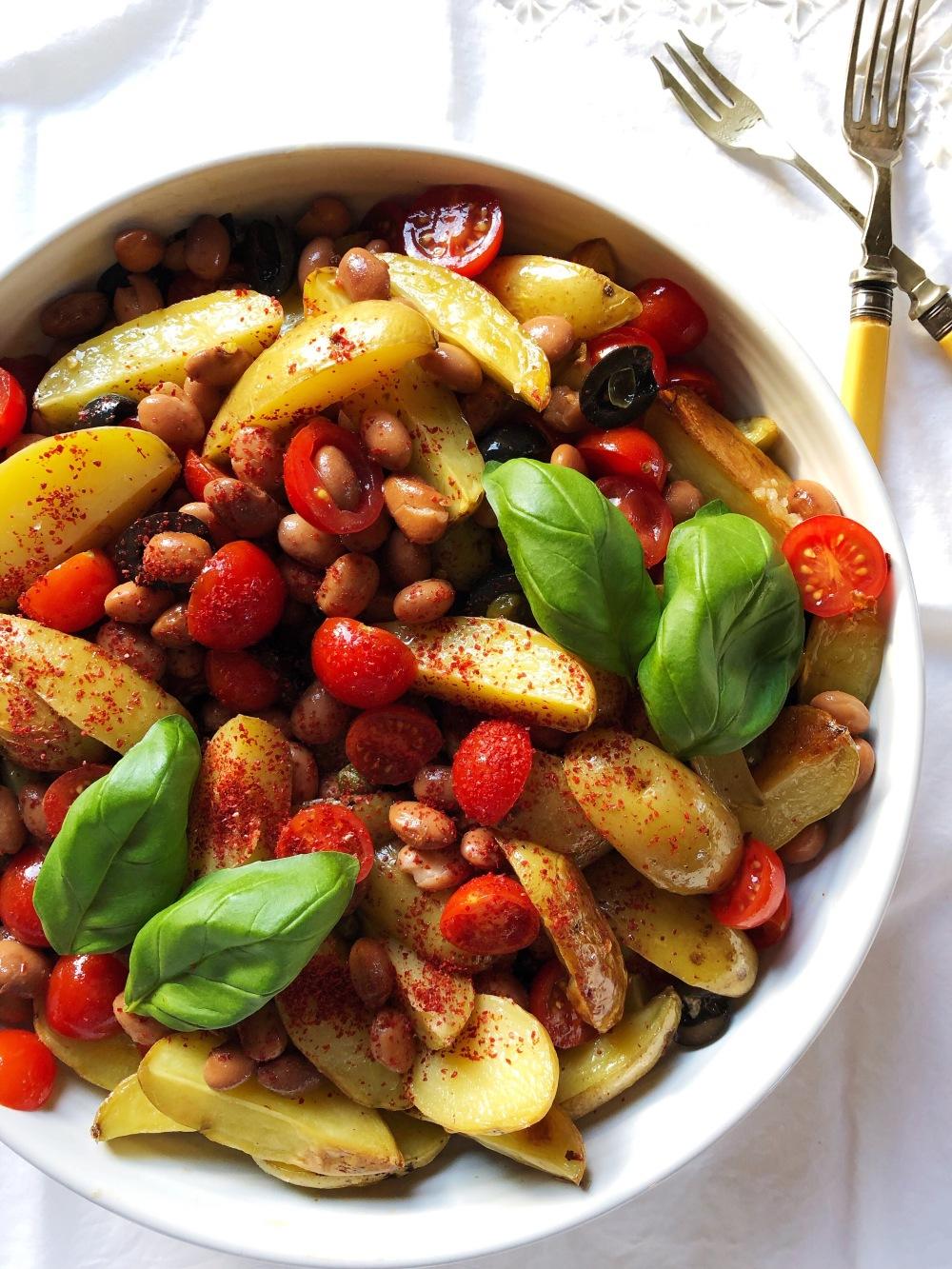 Puttanesca Salad