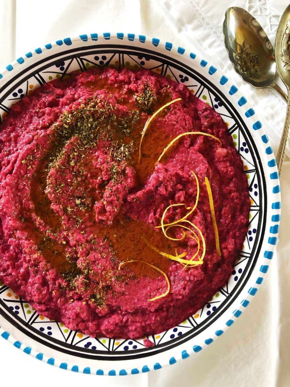 Roast Beetroot Hummus